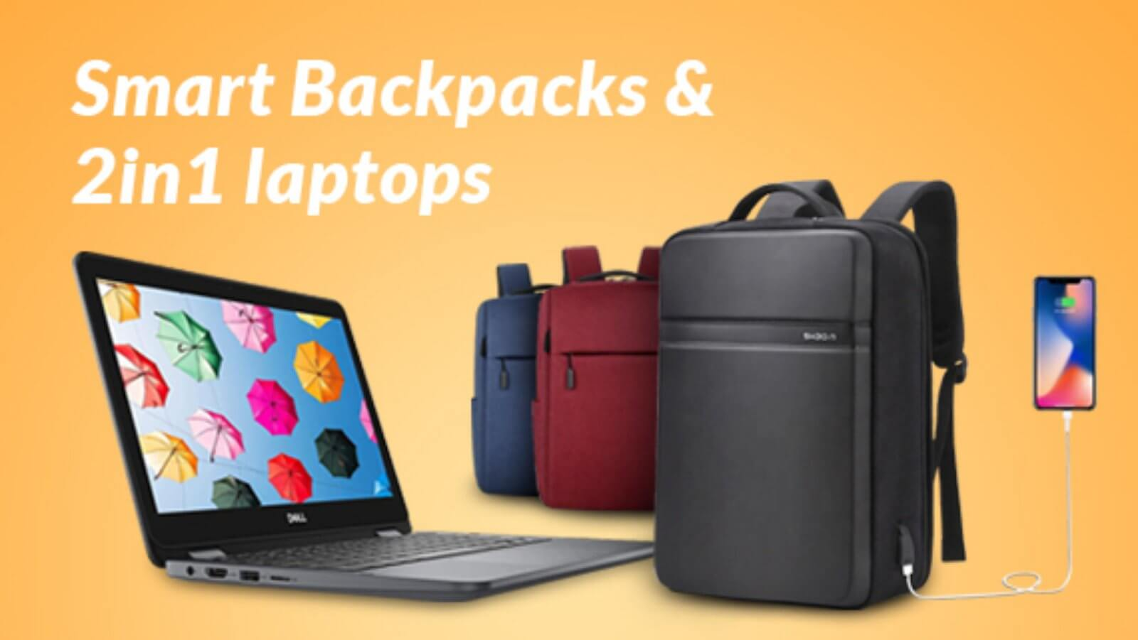 Laptops & Backpacks